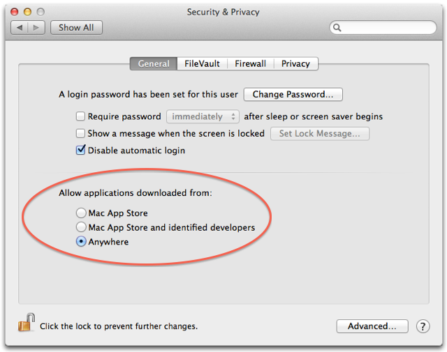 Start the FTP Server in OS X