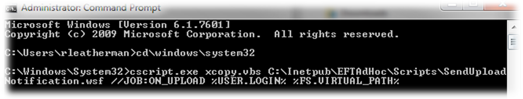 Using cscript exe on 32-bit or 64-bit systems