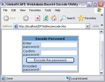 Does EFT Server support single-click/one-click authentication?